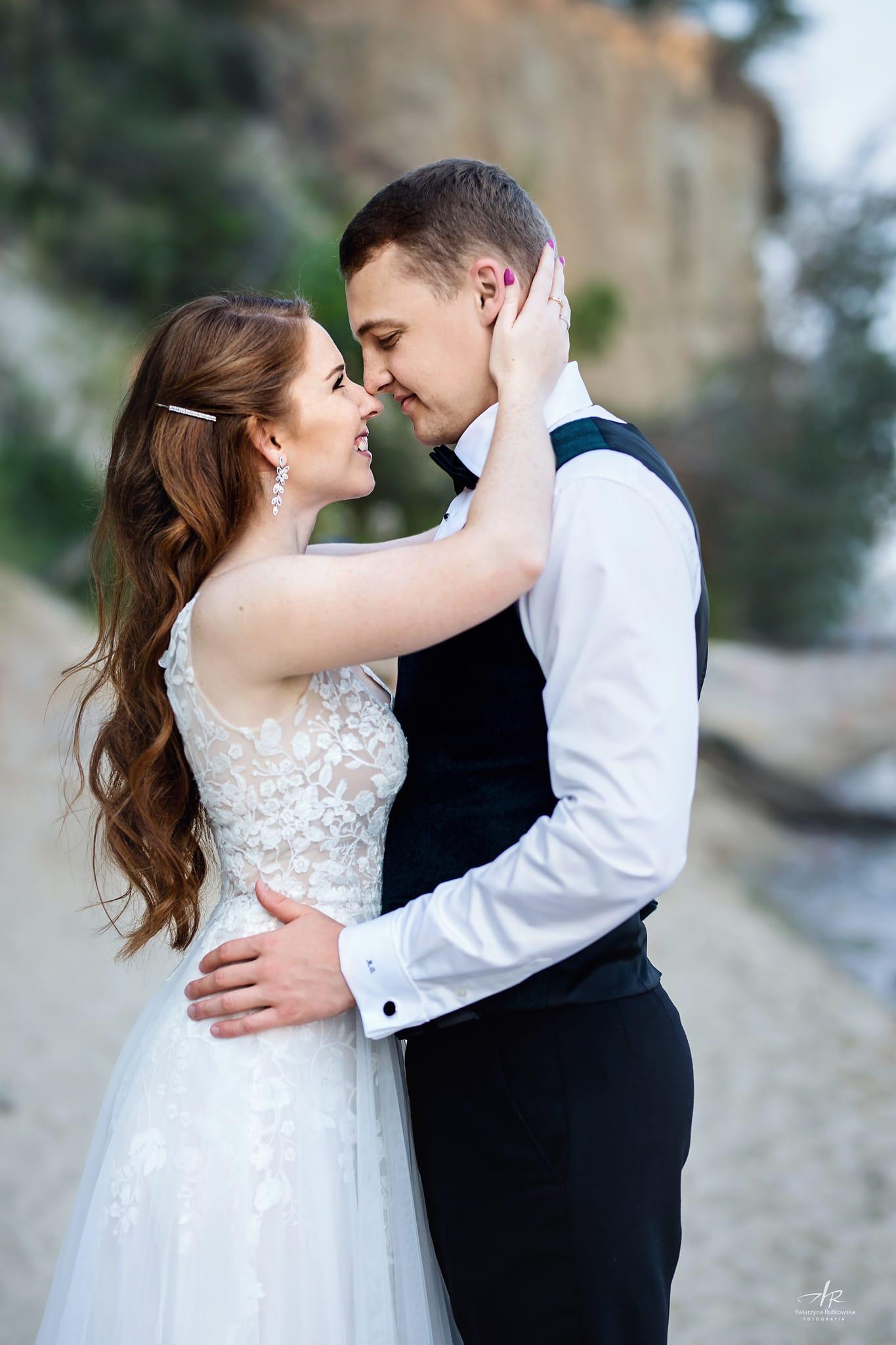 Sesja ślubna - Plaża