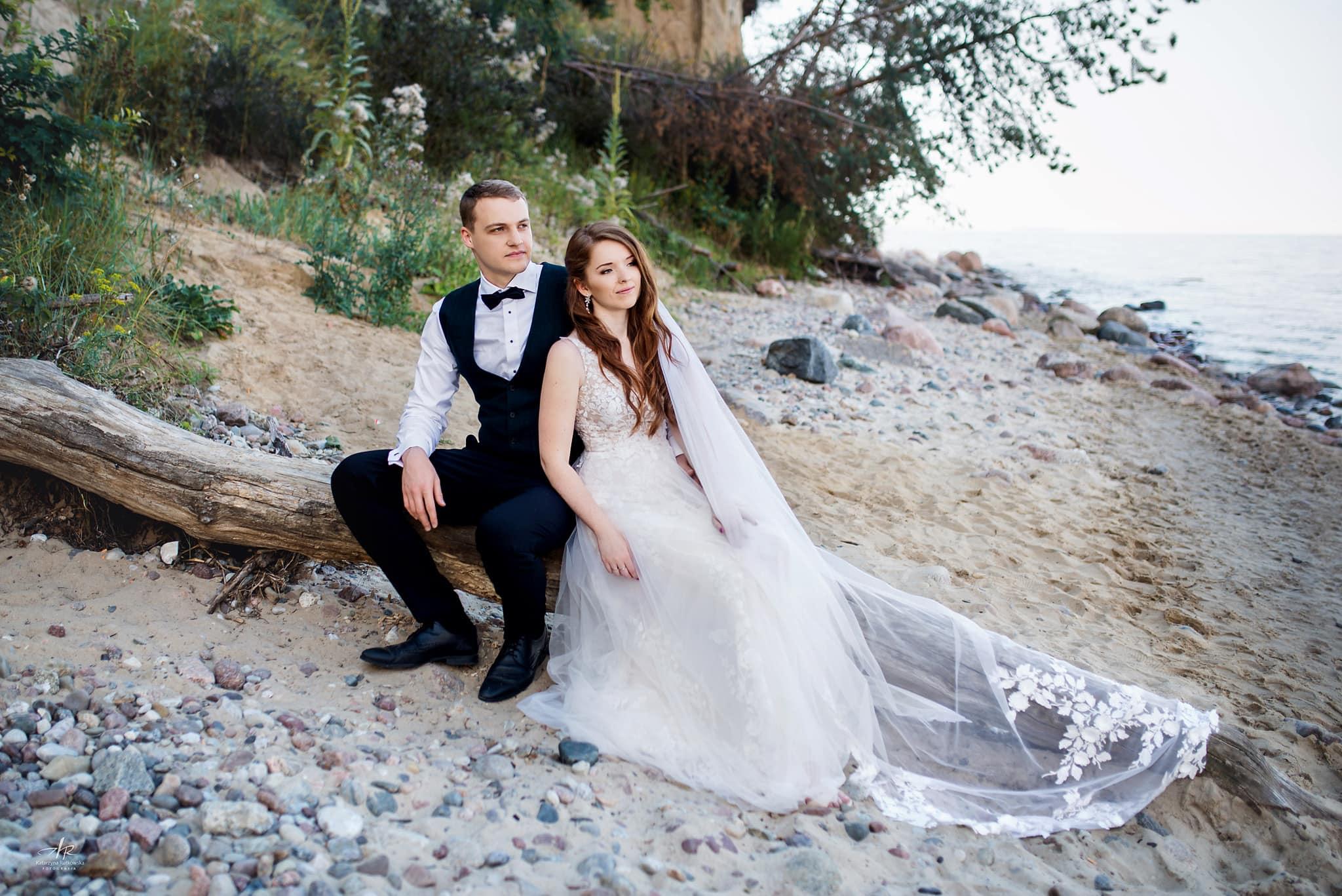 Sesja ślubna - Plener - Nad Morzem