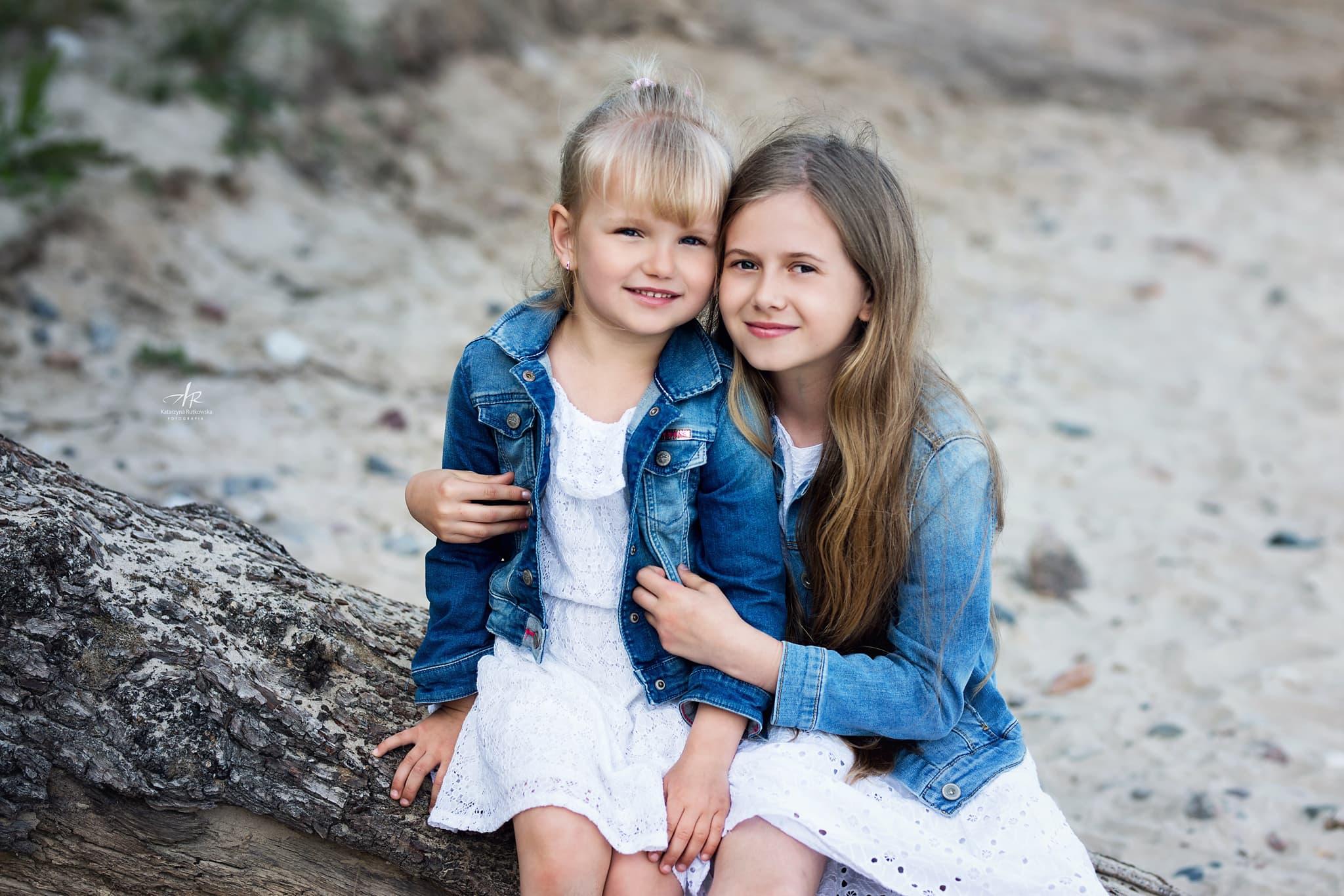 Siostry na plaży