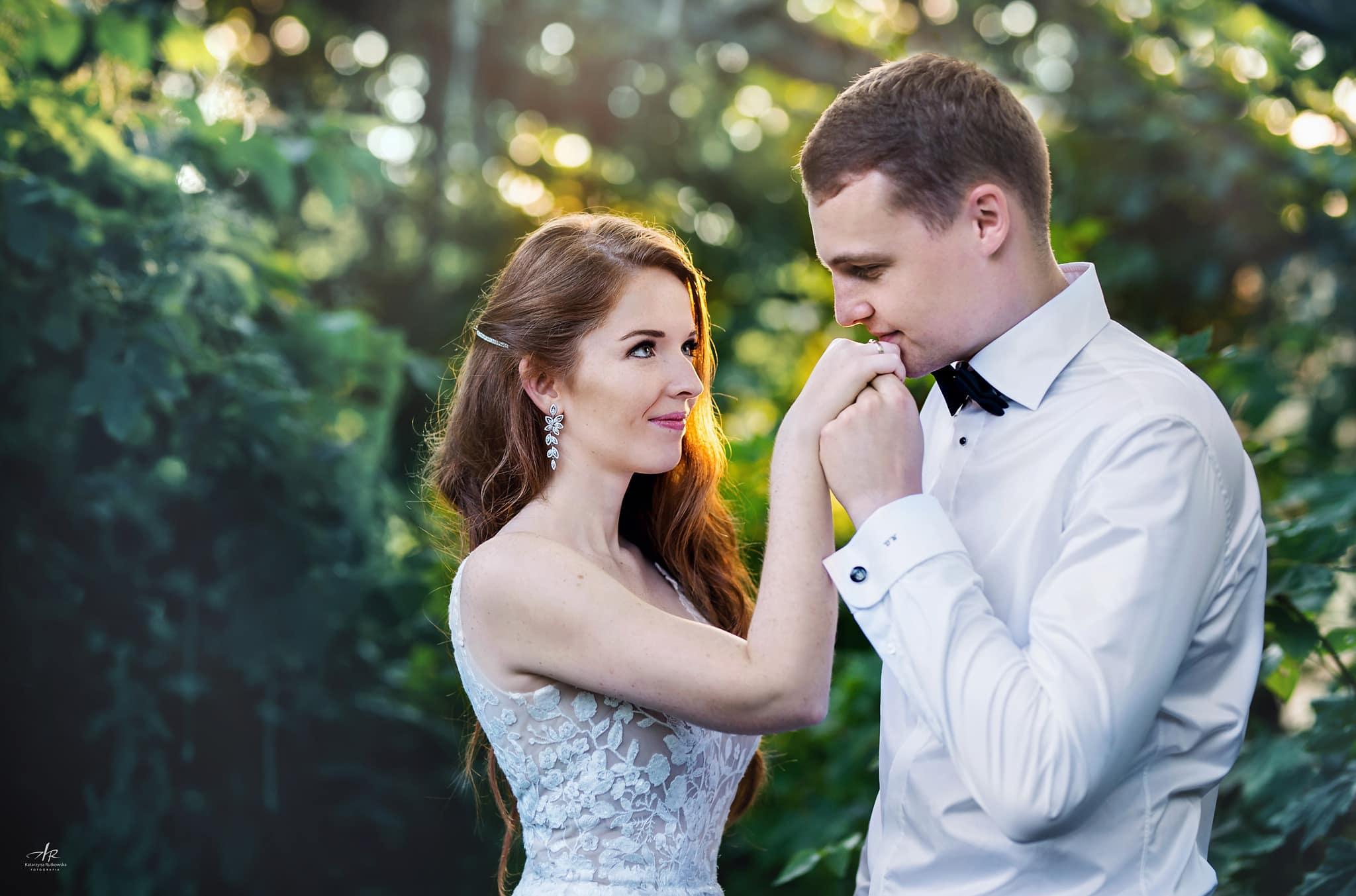 Sesja ślubna - Nowożeńcy