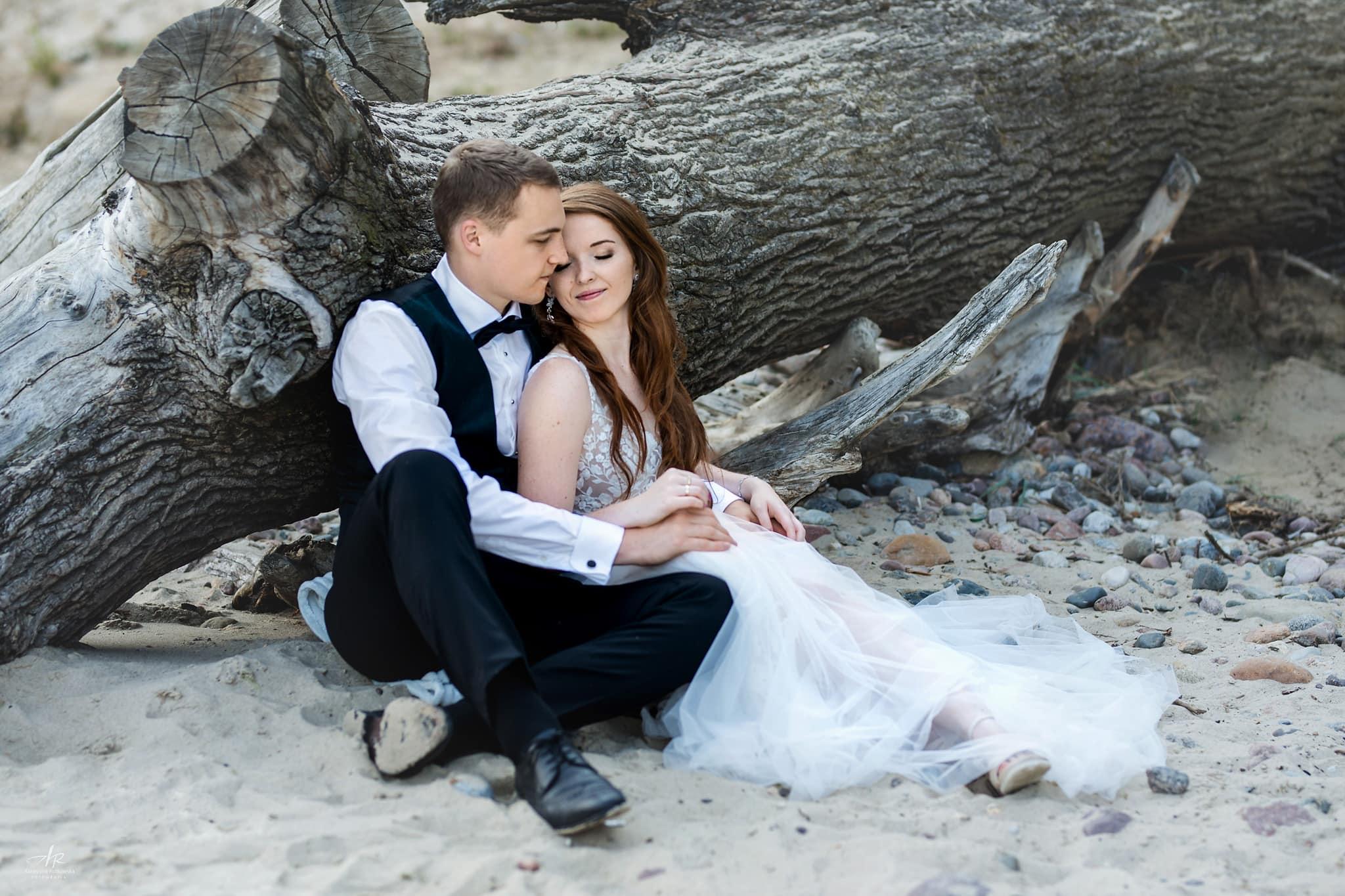 Sesja ślubna - Zdjęcia na plaży