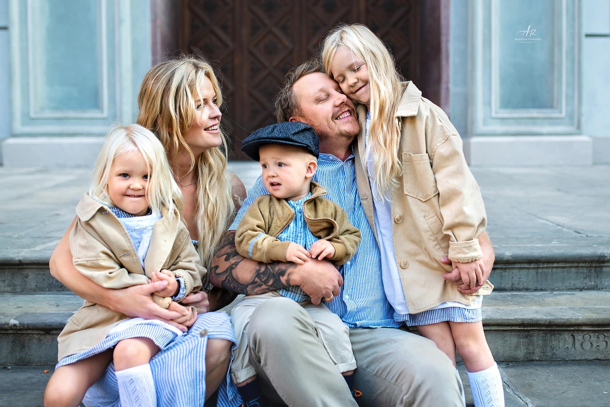 zdjęcia rodzinne na Starówce w Gdańsku