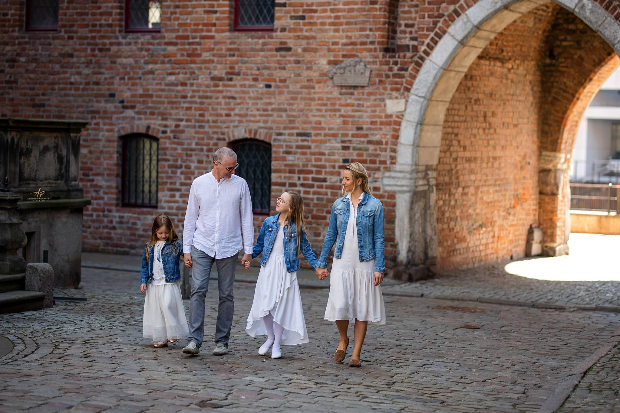Zdjęcia rodzinne na ul. Mariackiej